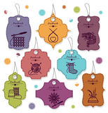 Needlework badges Stock Images