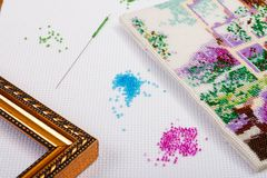 Needlework Royalty Free Stock Photography