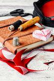 Needlework and sewing Royalty Free Stock Photography