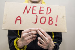 Needs a job Royalty Free Stock Images