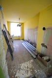 Neeeding Erneuerung des Hauses Stockfotos