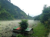 Neelam Valley, Kashmir Stock Afbeelding