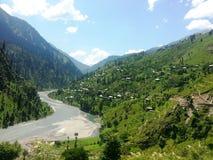 Neelam Valley Kashmir Pakistan Fotografia Stock