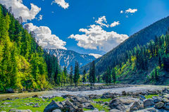 View of Kashmir valley Royalty Free Stock Photography