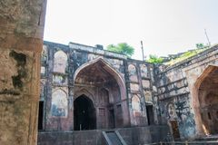 Neelkanth Palace Mandu India. Neelkanth Palace at Mandu or Mandav Dhar District near Indore Madhya Pradesh royalty free stock photography