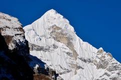 Neelkanth Peak. This is the neelkanth peak as seen from Badrinath Stock Images