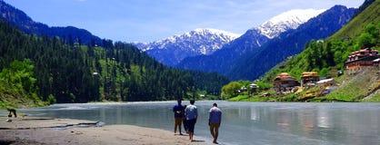 Neelum Valley Kaschmir Pakistan Lizenzfreie Stockfotos