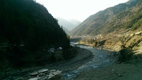Neelum valley. Kashmir pakistan royalty free stock image