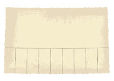 Neem één document markering Royalty-vrije Stock Fotografie