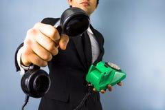Neem de vraag Stock Foto's