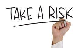 Neem een risico Stock Afbeeldingen