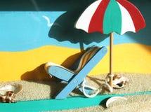 Neem een vakantie stock fotografie