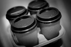 Neem koffie Royalty-vrije Stock Foto's
