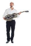 Neem mijn gitaar Stock Afbeelding