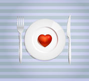 Neem mijn hart Stock Fotografie