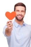 Neem mijn hart! Royalty-vrije Stock Foto's