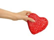 Neem mijn hart Stock Foto's