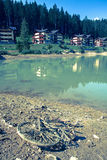 Neem nota van het groene water Stock Afbeelding