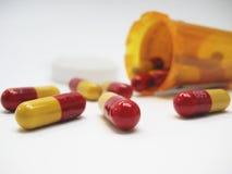Neem Uw Pillen Stock Foto's