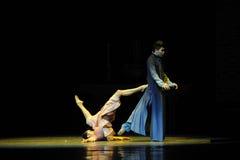Neem vlucht van dood - De derde handeling van de gebeurtenissen van dans drama-Shawan van het verleden Royalty-vrije Stock Fotografie