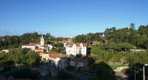 Neemt dichtbij Lissabon Sintra en Cascais zijn toevlucht stock foto's