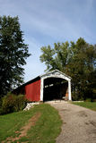 Neet Bridge. Covered Bridge in Parke County, Indiana stock images