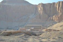 Nefertari寺庙  埃及 免版税库存图片
