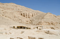 Nefertari-Grabeingang, Tal des Queens Stockfoto