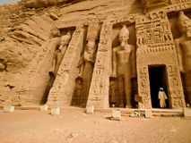 Nefertari& x27; s Tempel Stock Foto