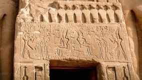 Nefertari-Tempel, Abu-Simbel stock video footage