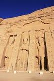 Nefertari-Tempel, Abu Simbel, Nubia Lizenzfreie Stockfotografie