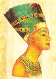Nefertiti Stockbild