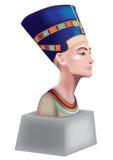 Nefertiti. Bust of Nefertiti, Queen of Egypt Royalty Free Stock Images