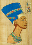 nefertiti royaltyfria foton