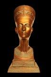 Nefertiti Bust. A bust of the Egyptian queen Nefertiti Royalty Free Stock Photo