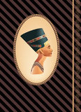 Nefertiti de la historia Ilustración del Vector