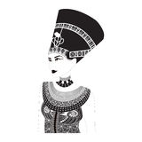 Nefertiti - Egyptian Queen Stock Photos