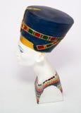 Nefertiti. Famous bust of queen Nefertiti Stock Images