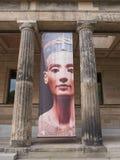 Nefertiti på det Neues museet Berlin Royaltyfri Fotografi