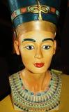 Nefertiti Royal Wife. Model of Queen Nefertiti the Royal wife of Akhenaten of ancient Egypt stock images