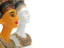 Nefertiti Sculptures Royalty Free Stock Images