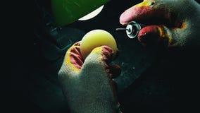 Nefrita de la nefritis del jade almacen de video