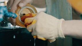 Nefrita de la nefritis del jade almacen de metraje de vídeo