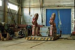 Neftyanogwinkel voor reparatiemateriaal. royalty-vrije stock foto
