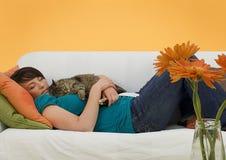 Negócio 11 do sofá Fotos de Stock Royalty Free