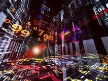 Negócio 3D Imagem de Stock