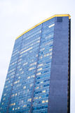 Negócio alto grande que constrói no centro de Milão, Itália Imagem de Stock