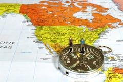 Negócio americano de navegação Fotografia de Stock Royalty Free