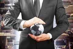 Negócio amigável de Eco, conceito da proteção ambiental Fotos de Stock Royalty Free