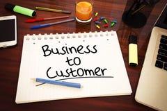 Negócio ao cliente Imagem de Stock Royalty Free